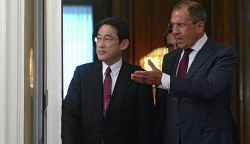 日ロ外相会談 平和条約交渉の再開で合意 - ảnh 1