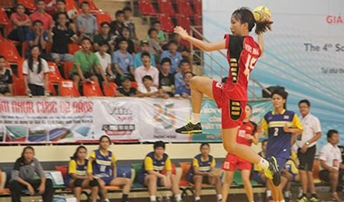 第4回東南アジアボール投げ選手権大会始まる - ảnh 1