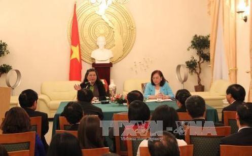 フォン国会副議長、ベルリン駐在ベトナム大使館を訪れる - ảnh 1