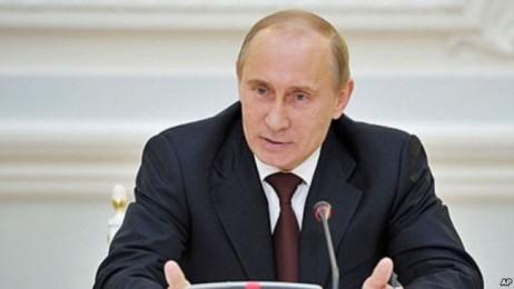 シリア内戦関与、プーチン氏「世界を守る」 米ロの代理戦争の声も - ảnh 1
