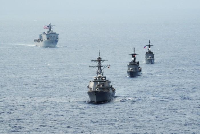 米、東南アジア関係国に「近く艦艇を派遣」と伝達 中国を強く牽制 - ảnh 1