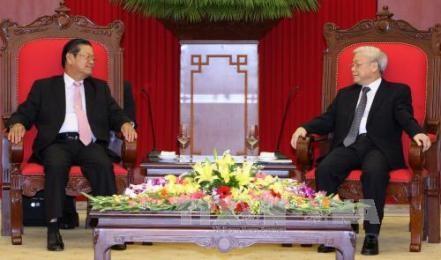 ベトナムとラオスの友好と全面的な協力関係を強化 - ảnh 1