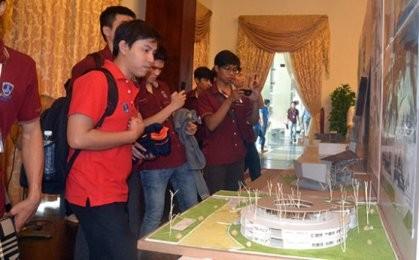 ホーチミン市で、第4回アジア学生の建築コンクール始まる - ảnh 1