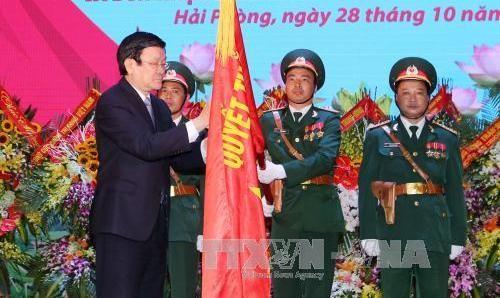 第3区の人民軍部隊は設立70周年を記念する式典 - ảnh 1