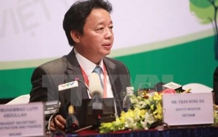 第13回ASEAN環境担当閣僚会議の成果を報告する記者会見 - ảnh 1