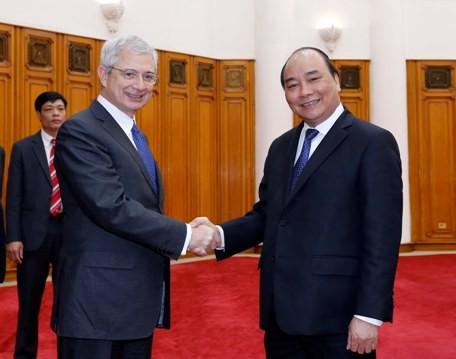 フック副首相、仏国民議会議長と会見 - ảnh 1