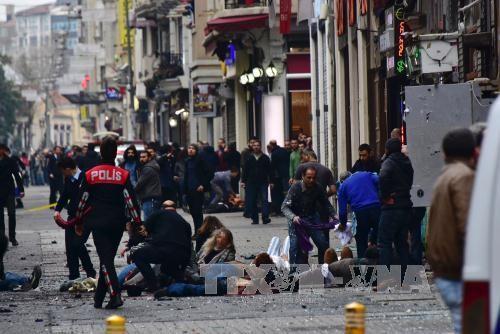 死者はイスラエル人ら=イスタンブール自爆テロ - ảnh 1