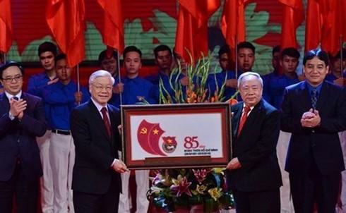 ホー共産青年同盟設立85周年記念式典 - ảnh 1