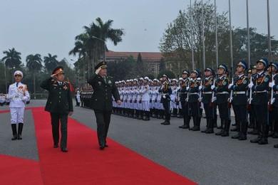 中国国防大臣、ベトナムを訪問中 - ảnh 1