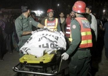 パキスタンでテロ、65人死亡イスラム過激派が犯行声明 - ảnh 1