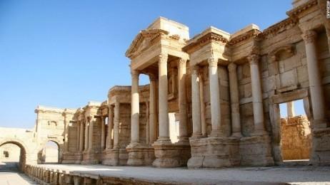 シリア政府軍、中部パルミラをISISから奪還 - ảnh 1