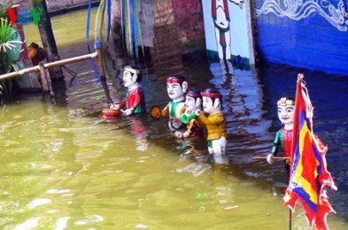 ハイズオン省の水上人形劇 - ảnh 1