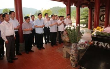 フエ副首相、ゲアン省を訪問中 - ảnh 1