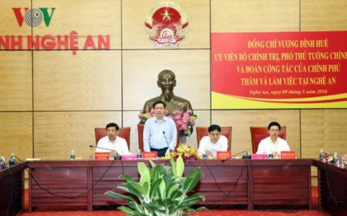フエ副首相、中部ゲアン省を訪れる - ảnh 1