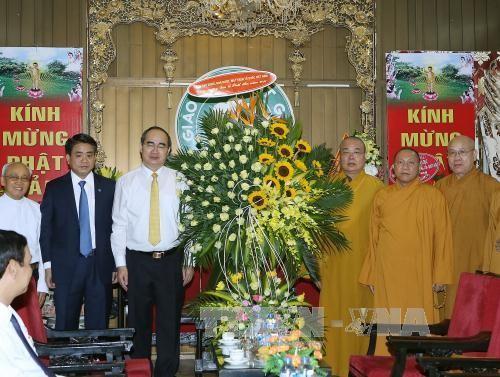 ニャン議長、ベトナム仏教協会管理評議会を訪れる - ảnh 1