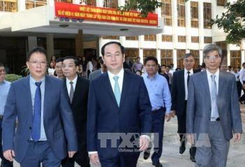国家主席、ベトナム科学技術アカデミーを訪問 - ảnh 1
