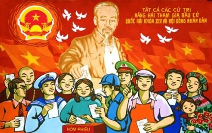 投票日・ベトナムにおける民主主義を示す日 - ảnh 1