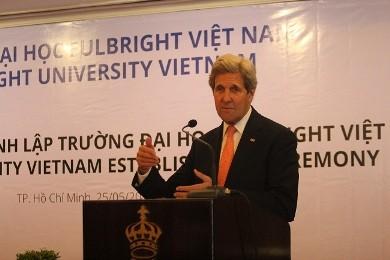 フルブライト大学ベトナム校の設立に関する決定の引渡し - ảnh 1