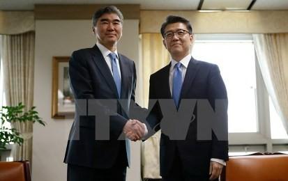 来月1日に日米韓首席会合 朝鮮核問題、東京で開催 - ảnh 1