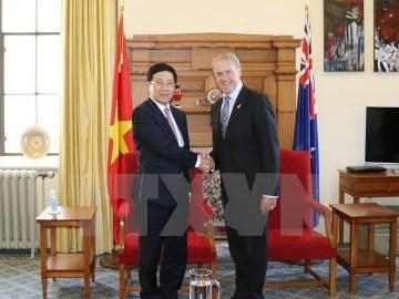 ミン副首相兼外相、ニュージーランドを訪問中 - ảnh 1