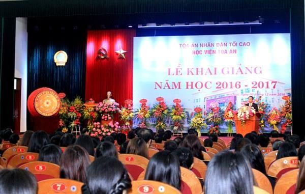 クァン国家主席、最高裁学院の始業式へ出席 - ảnh 1