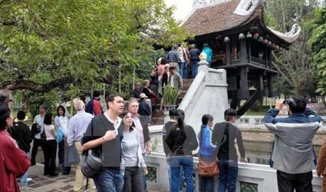ハノイ訪問外国人旅行者、4百万人に達成 - ảnh 1