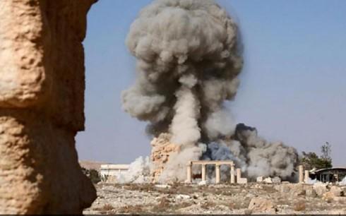シリアの古代都市パルミラ、ISISが再侵攻 政府軍撤退 - ảnh 1