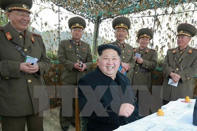 朝鮮 韓国大統領府襲撃の想定で訓練 - ảnh 1