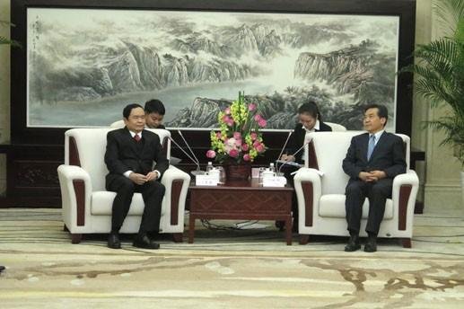 ベトナム祖国戦線と中国全政協、経験交換を促進 - ảnh 1