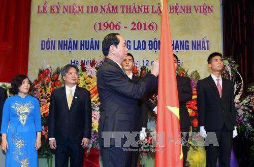 ベトナム・ドイツ友好病院設立110周年記念式典 - ảnh 1