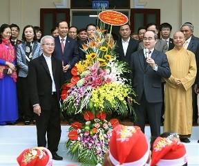 ベトナム祖国戦線議長、カトリック教徒を訪れる - ảnh 1