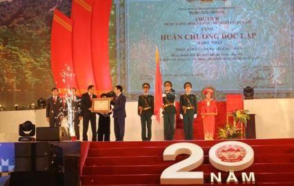 バクカン省設立20周年を記念する式典 - ảnh 1