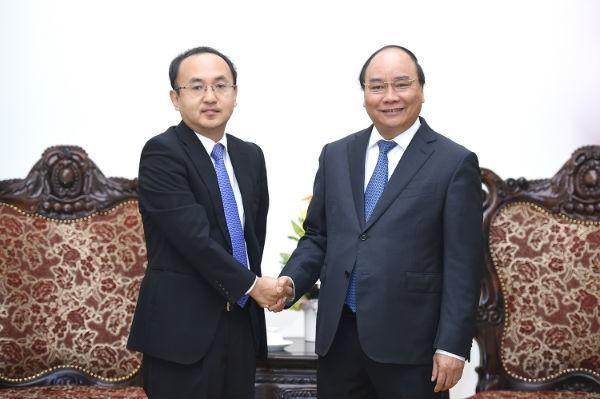 フック首相、JETROの川田所長と会見 - ảnh 1