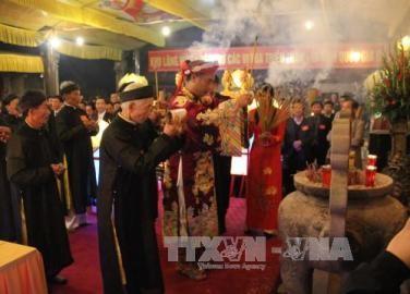 北部タイビン省のチャン神社祭り2017始まる - ảnh 1