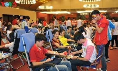 「血液を献血して、他人の命を救う」運動が始まる - ảnh 1