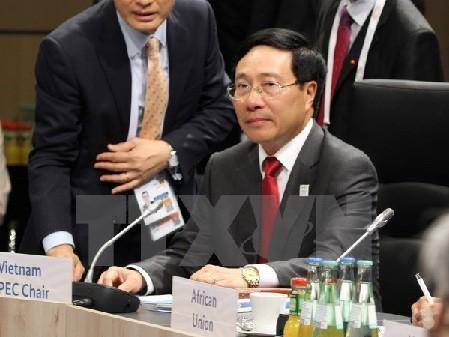 G20外相会議におけるビン・ミン副首相兼外相の活動 - ảnh 1