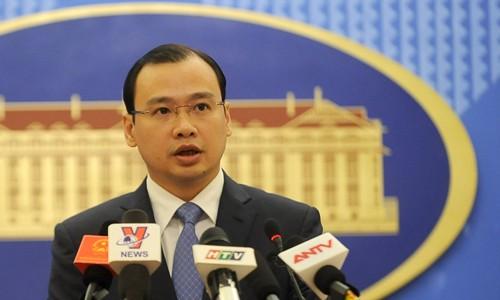ベトナム外務省報道官、朝鮮の弾道ミサイル発射に懸念 - ảnh 1