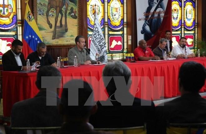 副大統領への制裁は「攻撃」=米新政権にも敵対-ベネズエラ - ảnh 1