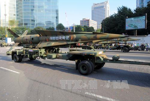 日米韓、朝鮮ミサイルで協力強化 - ảnh 1