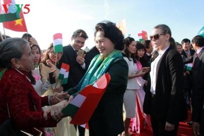 ハンガリーを訪問中のガン国会議長の活動 - ảnh 1