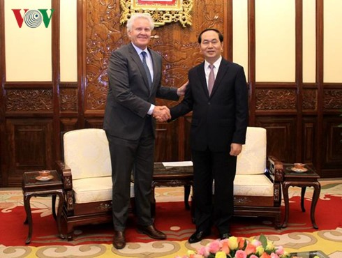 クアン国家主席、GEのCEOと会見 - ảnh 1