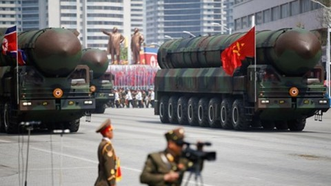 朝鮮がミサイル発射に失敗か 米韓両軍が分析急ぐ - ảnh 1