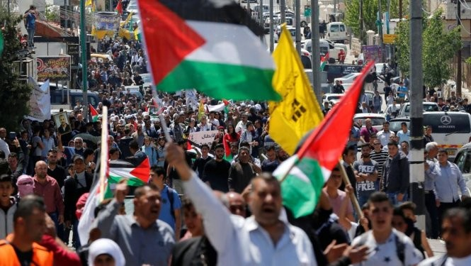 パレスチナ人ら1000人が獄中ハンスト  - ảnh 1