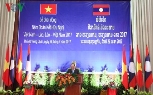 「ベトナム・ラオス友好団結年2017」、開始 - ảnh 1