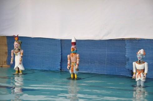 ベトナムの水上人形劇を自分の国に紹介したエジプト人女性 - ảnh 2