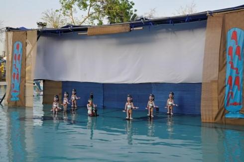 ベトナムの水上人形劇を自分の国に紹介したエジプト人女性 - ảnh 3