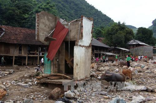 洪水被害者に6億ドンを支援 - ảnh 1
