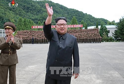 朝鮮キム委員長 軍の特殊部隊の訓練を視察 - ảnh 1