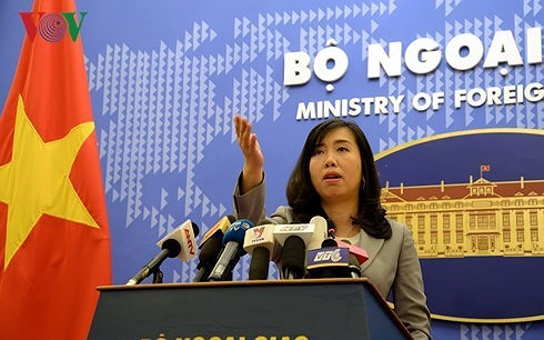 外務報道官、再び中国に抗議 - ảnh 1