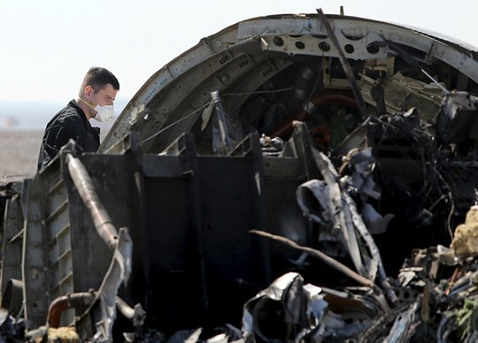 俄罗斯为埃及坠机事件的遇难者举行哀悼活动 - ảnh 1